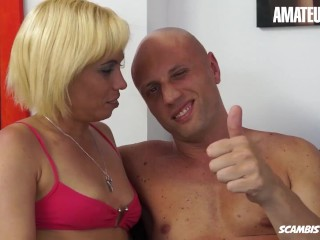Scambisti Maturi - Mature Latina Cubana Gets Her Tight Ass Destroyed By A Huge White Cock