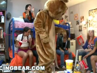 DANCINGBEAR – College Sorority Sisters Treated To A Buffet Of Cock