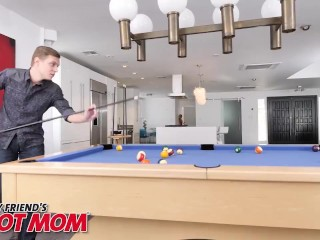 Naughty America - Casca Akashova Plays With Her New Friend On The Pool Table