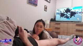 Thai XXX  June Liu 刘玥 / SpicyGum – Chinese Teen Giving Blow Job to SexFriend While Playing Mario Kart (Asian)