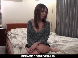 Hot japan girl Rina in beautiful sex video