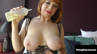 Oily Anal Bodystocking Love With Penny Pax & Her Little Loving Asshole!
