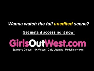 Women Out West – In need of sex lesbian chicks on hike lick and finger every different within the wooded area