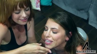 Adriana Chechick And Penny Pax Best Double BJ POV!!!