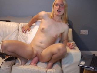 Large fuck toy vagina banged and ass fail