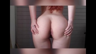 Naked ass close up farts
