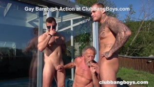 Gay Porn Tube XXX  Fucked Up Grandpa Sucking Us for Some Cash