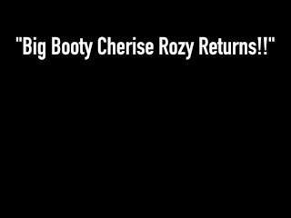 Ebony Fuck Fest! Thick Big Booty Cherise Rozy & Big Black Cock Rome Major!