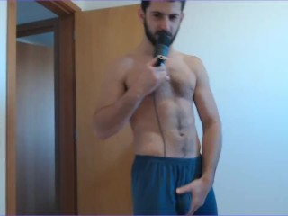 Handsome master cock rub and play with your hole instructions cock denial