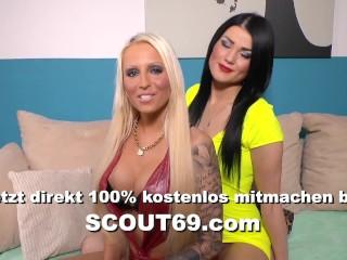 German Amateur Teen Tight Tini Cum and Facial Compilation