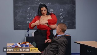 Brazzers – Chubby Latina Milf Sofia Rose Plowed Hard In Multiple Position In Class