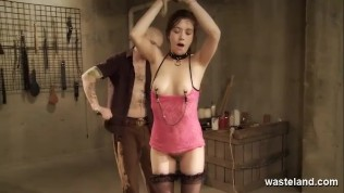 BDSM Kink And Fetish Play Lead Submissive Babe Over Orgasmic Edge