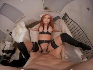 VR BANGERS Best Marvel's XXX PArody With Ginger Sex Bomb VR Pornography