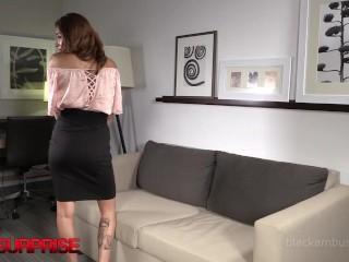 19yo Latina Frida Is Butt Banged By Big Black Cock