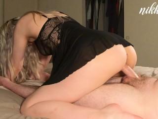 Please cum inside of me Daddy!! Makeup Sex!! – NikkieRae