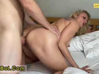 Anal Sex With Sexy Milf While Her Husband Is Not Home And Cum On Ass