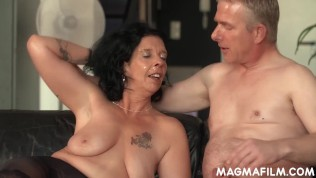 Granny slut loves fucking big cock