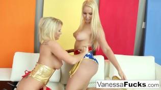 Vanessa & Daisy are both superheroes!
