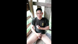 Porn Gay XXX  Outdoor Pissing in farm
