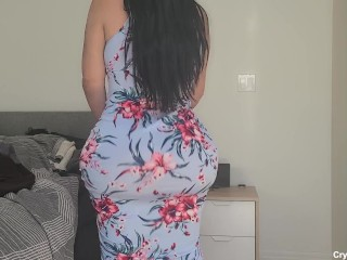 Horny THICK busty Stepmom goes into perverted Stepsons room to FUCK him while her husbands at work
