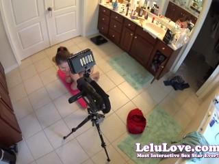 Behind The Scenes Hot Pov Of Blowjob Handjob Cumshot Full Scene - Lelu Love