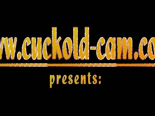 cuckold cam loser must film when his boss get blowjob