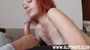 FFM Threesome: A perfect slow blowjob and sloppy deepthroat afternoon with two cocksucking sluts