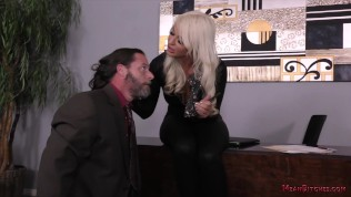 London River – Ass Worship & Foot Worship – Femdom – Office