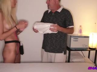 Cock Massage Treatment with Full Release Handjob ShadySpa