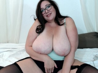 Sexy BBW in Stockings Live Cam Show Pussy Play Big Tits
