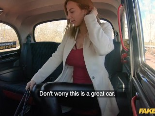 Fake Taxi Hot Blonde Czech Babe Gets Spink All Over Her Banging Huge Boobs