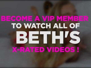 Thick British model Beth best bits on Babestation