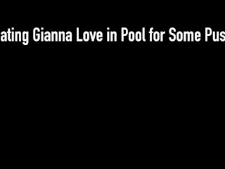 Big Dick Rome Major Super Stuffs Hot Babe Gianna Love & Her Sweet Pussy!