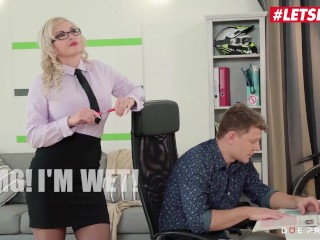 DoeProjects - Jarushka Ross Hot Czech Teacher Sexual Lessons For Her Young Student - LETSDOEIT