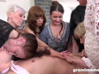 Sleazy Grannies Fucking Toy Boys