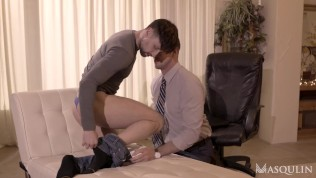 Drew and Pierce Enjoy The Sex Therapy