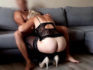 Fucking HOT wife in the stocking and high heels FULL HD