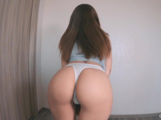 Step sister loves anal sex with a fat cock