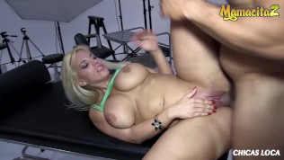 ChicasLoca – Blondie Fesser Big Tits Sexy Argentinian Exhibitionist Sucks And Fucks Big Cock