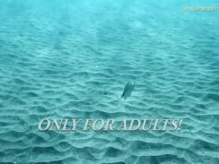 Shower/underwatershow/on tenerife babe teen swims