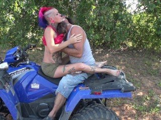 Chassidy Lynn - 4k, Public Sex, Rough Sex While Riding In the Woods, Big Cum Shot