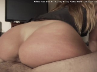 The Favorite Of Riding Compilation (NO MUSIC + scene titles) – Teen virgin NoFaceGirl, YouPeg