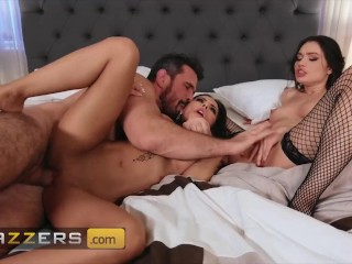 Brazzers – Brunette Hot Babes Manuel Ferrara, Madison Ivy Had Sex orgy