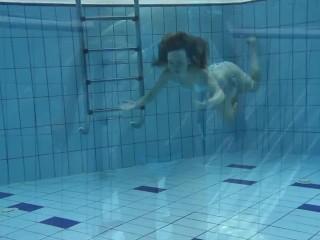 Swimming pool seductive babe Clara
