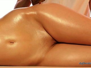 Best full body oil massage with Marcella