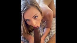 Step-sister Bangs Her Step-bro taking his Big Dick like a Champ