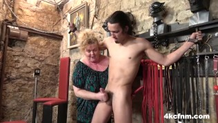 Fat Grandma Finally Lost It – FemDom