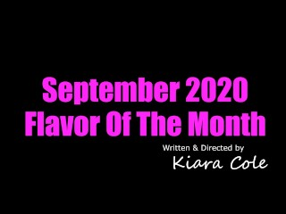 Kiara Cole Flavor of the Month