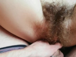 Hairy pussy fucking compilation big clit girl amateur couple with cutieblonde
