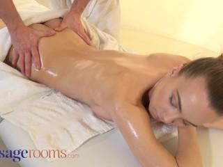 Massage Rooms Ukrainian beauty experiences intimate erotic massage and passionate sex